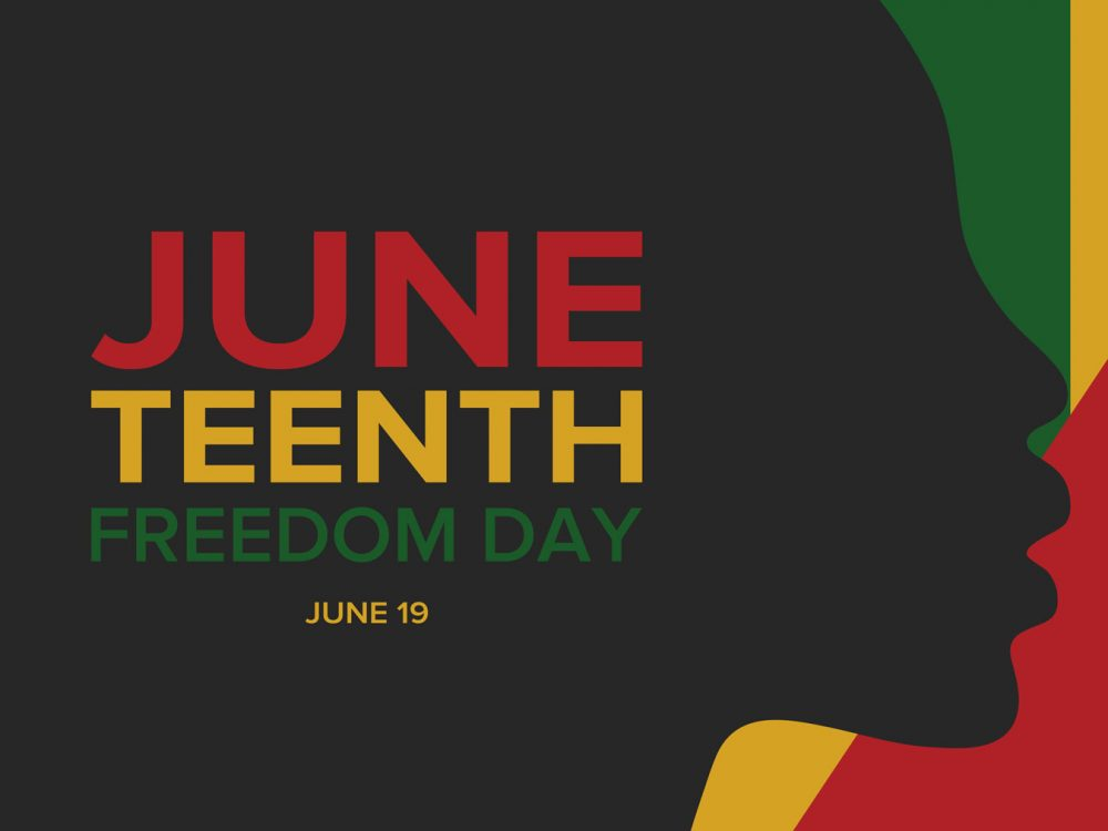 Juneteenth is a federal holiday in the United States